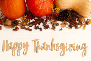 Happy Thanksgiving and Well Wishes from Prairie Spine!